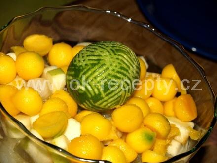 FRISCO letní lehká bowle + foto postup