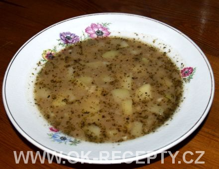 Kedlubnová bramboračka + foto postup