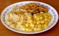 100/4 - Kedlubnové zelí, dušená kotleta, bramborové noky + foto postup