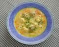 Květáková polévka s nočky + foto