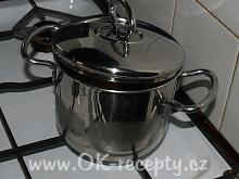Rychlá mléčná polévka + foto postup