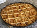 Mřížkový koláč s ovocem + foto postup