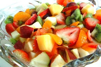 Výsledek obrázku pro ovocný salát