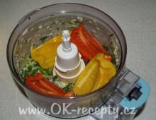 Pomazánka papriková s jogurtem