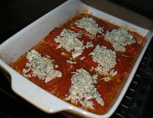 Rybí filé zapečené s rajčaty a nivou