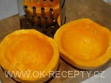 Slaný dýňový koláč - sýrový + foto postup