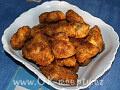 Smažené kuřecí česnekové nugety + foto postup