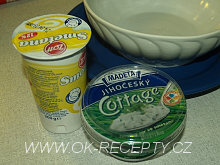 Špagetový dort - zápekané špagety s kuřecím masem + foto postup